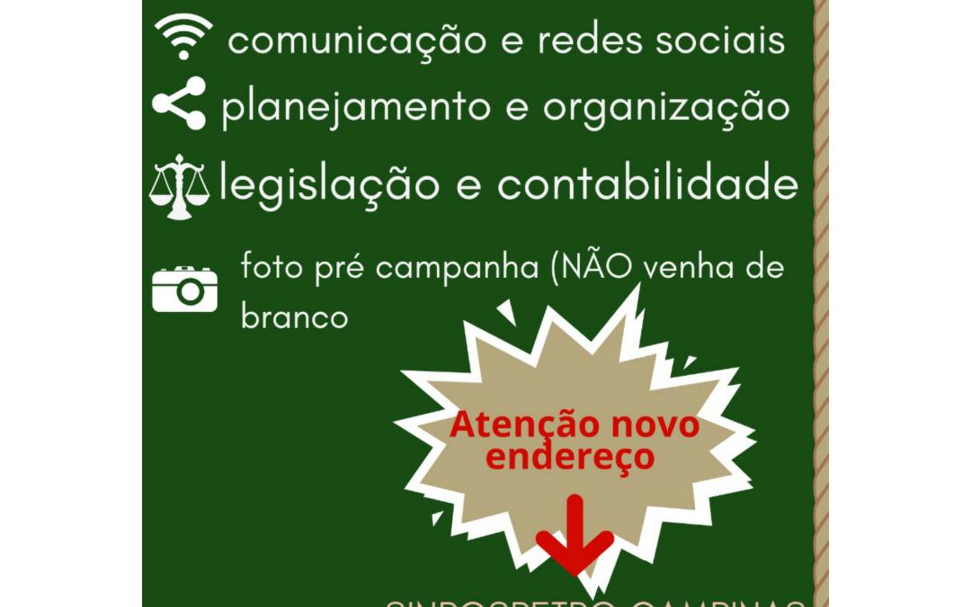 Encontro de Pré Candidatos e Candidatas do PCdoB Campinas e Região