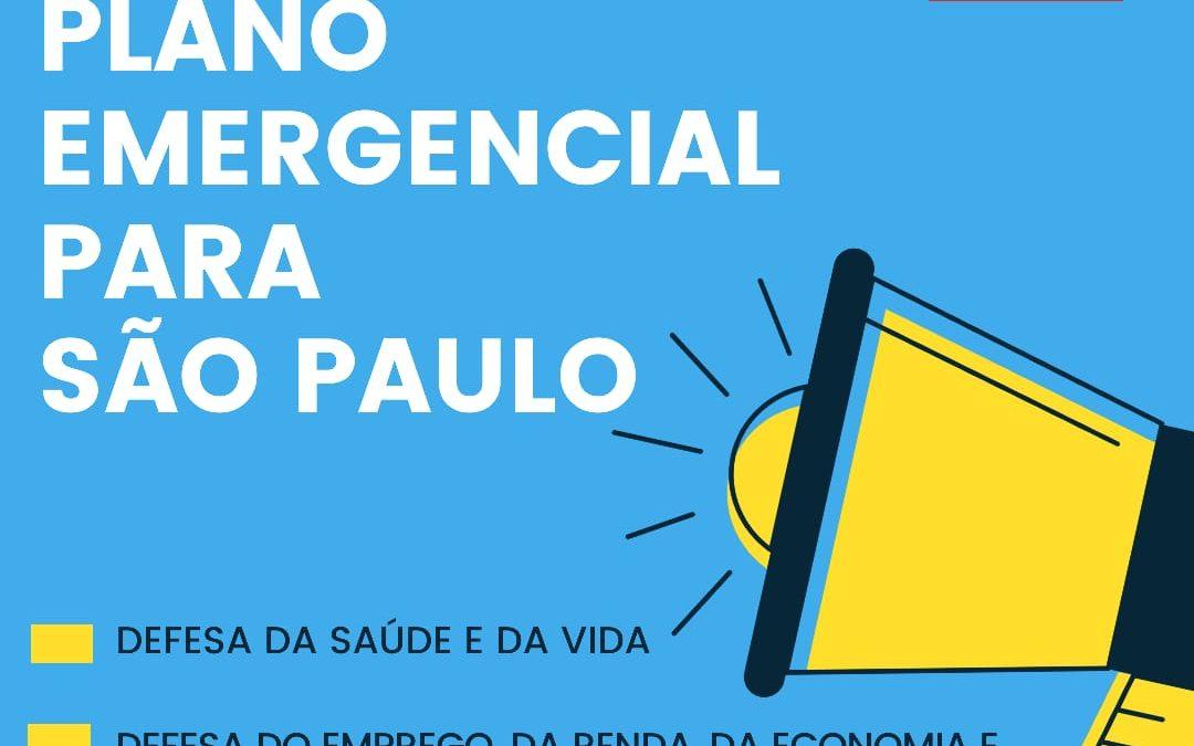 Combate ao coronavírus: PCdoB propõe Plano Emergencial para São Paulo