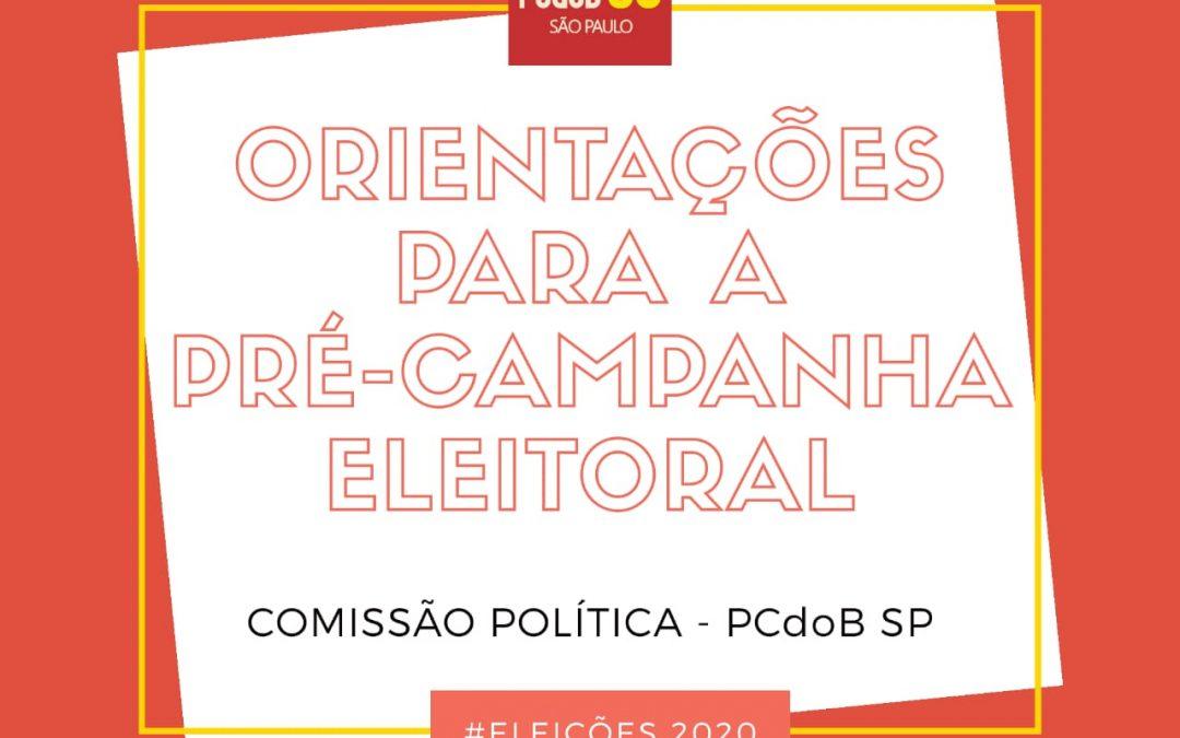 PCdoB/SP orienta para a pré-campanha durante o distanciamento social