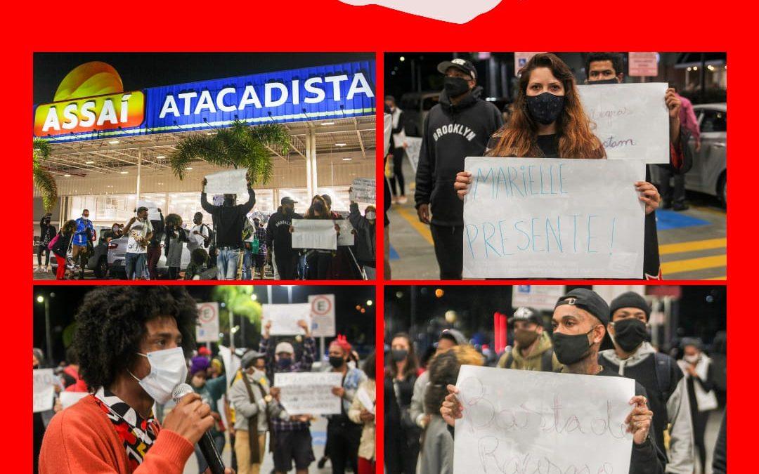 PCdoB Mauá participa de ato antirracista