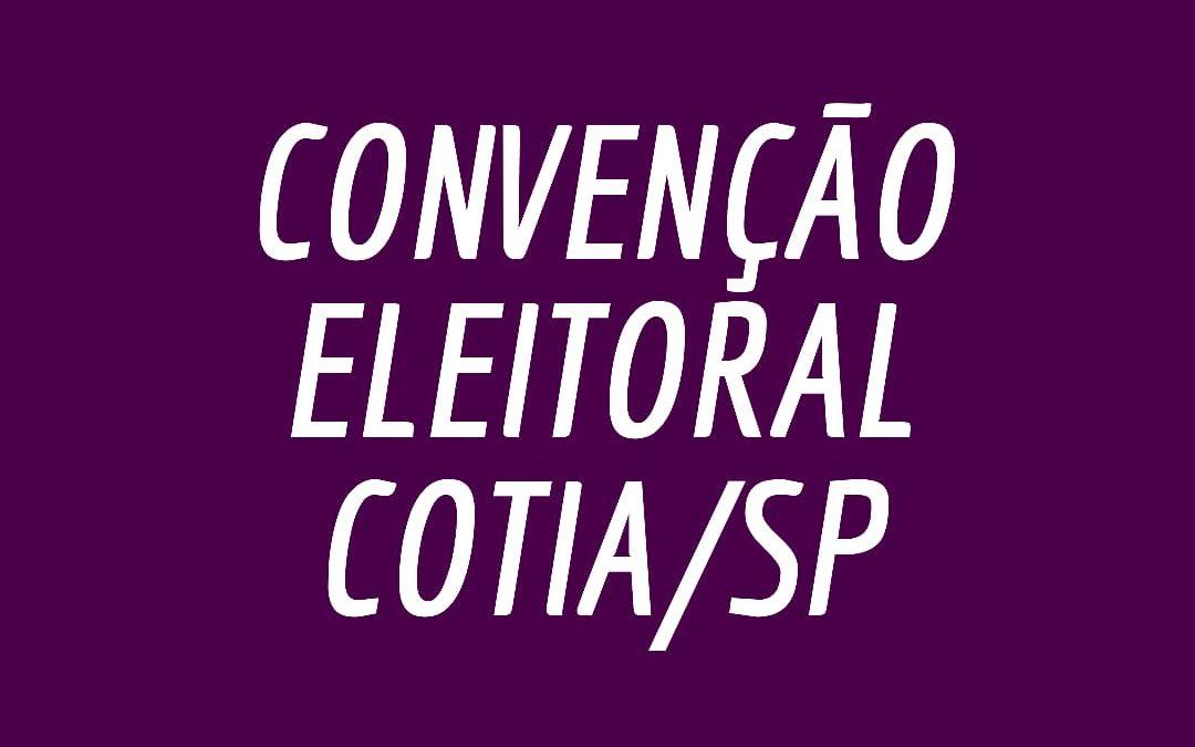 Comitê Municipal do PCdoB em Cotia convoca Convenção Eleitoral
