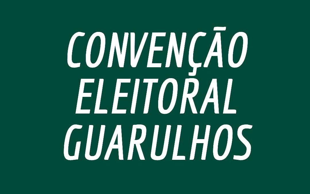 Comitê municipal do PCdoB em Guarulhos convoca convenção eleitoral