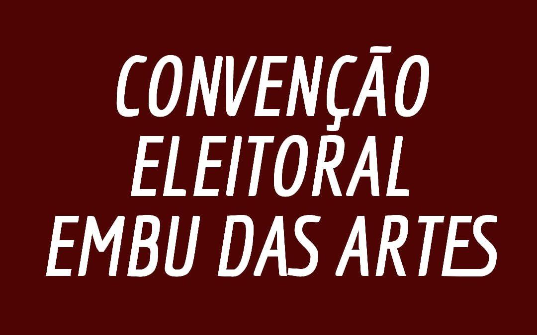 Comitê municipal do PCdoB em Embu das Artes convoca convenção eleitoral