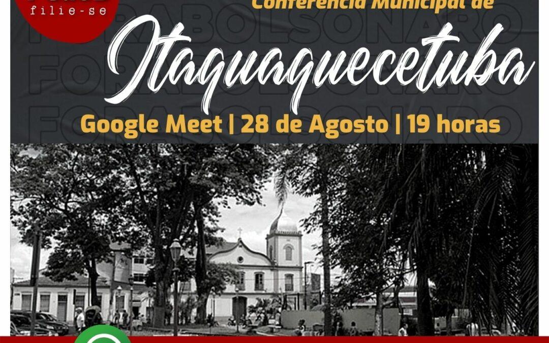 Comitê de Itaquaquecetuba convoca conferência municipal