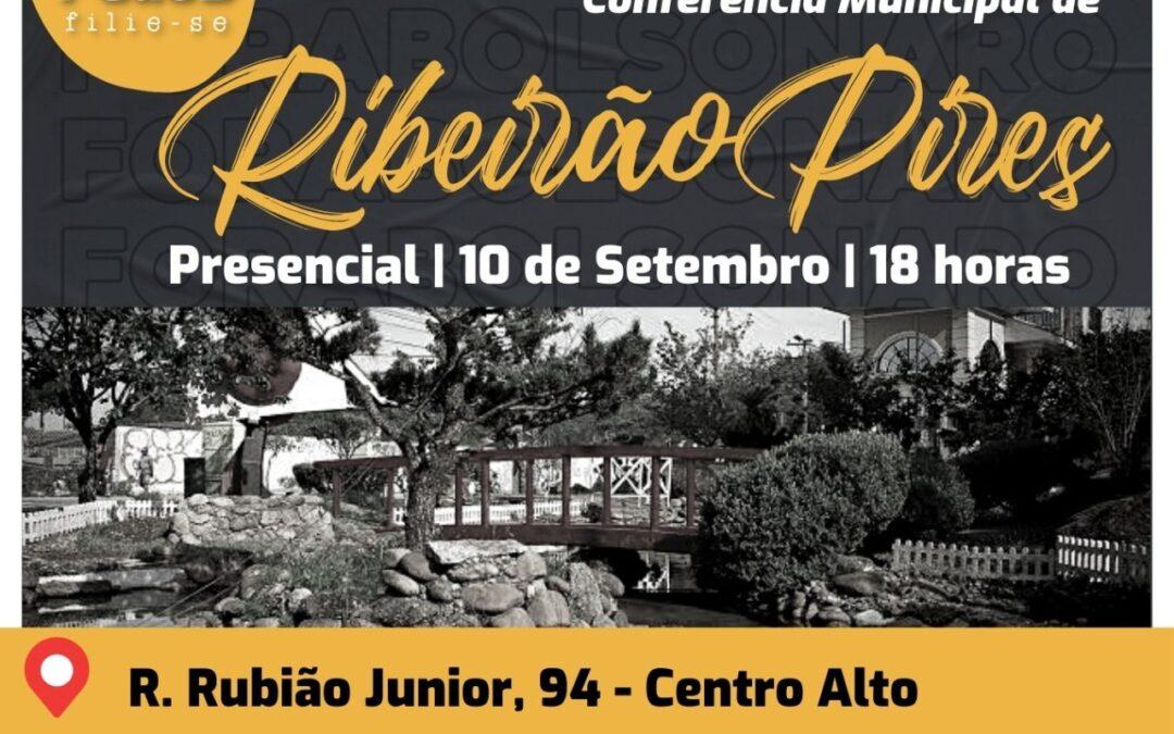 Comitê de Ribeirão Pires convoca conferência municipal